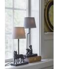 Malcom  tablelamp black 30cm high